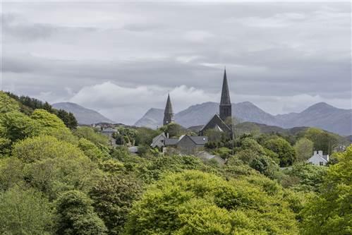 Abbeyglen Castle View