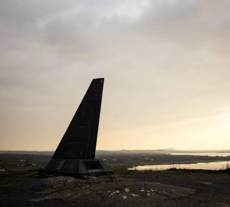 Alcock Brown memorial