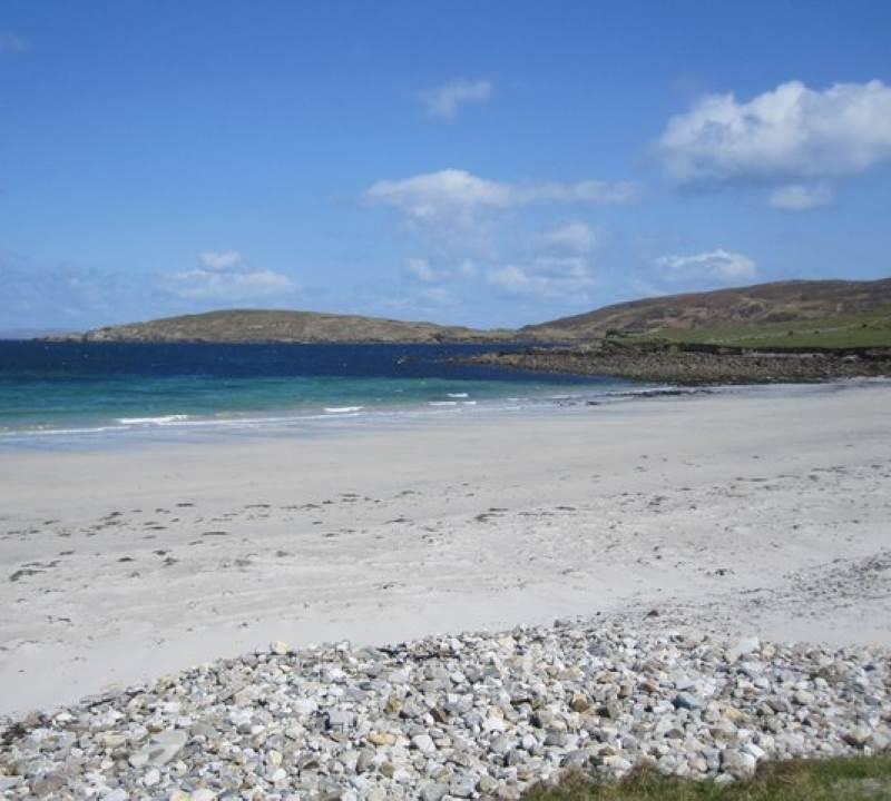 cleggan beach