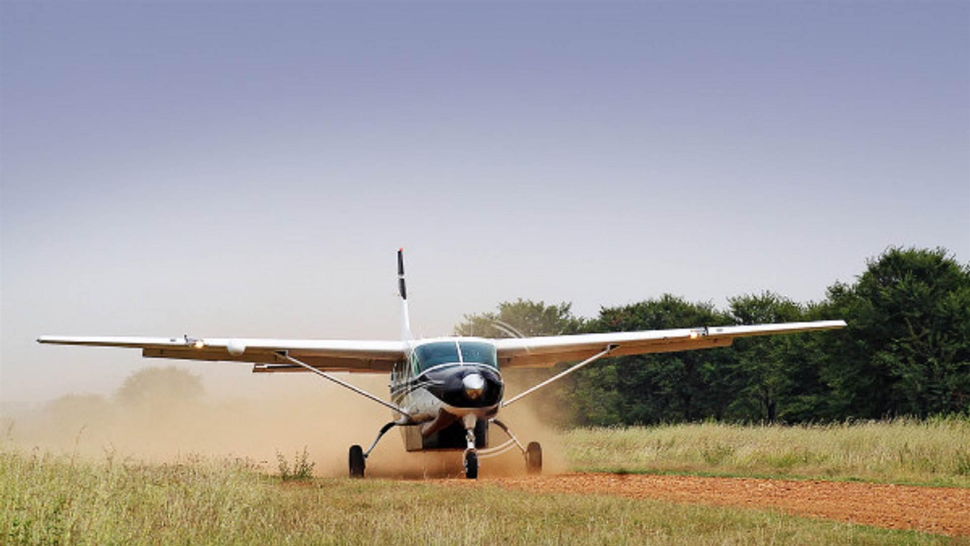 Cessna Caravan 208 landing 600x400