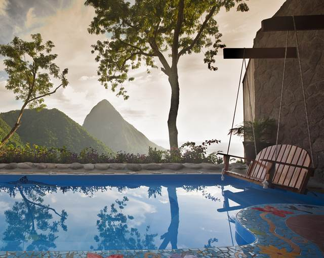 Ladera Resort St Lucia swimmingpool