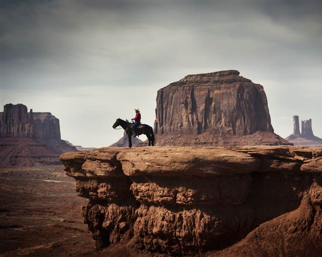 Monument Valley Cowboy USA