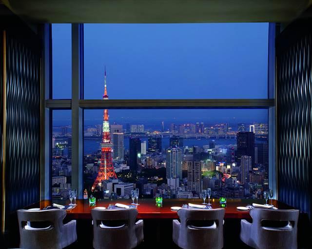 Ritz Carlton Tokyo Japan restaurant