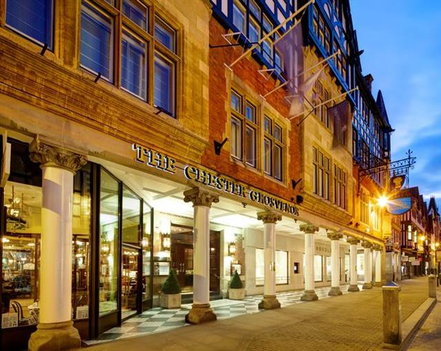 The Chester Grosvenor Exterior Night P