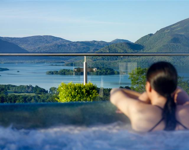 aghadoe heights  penthouse hot tub large