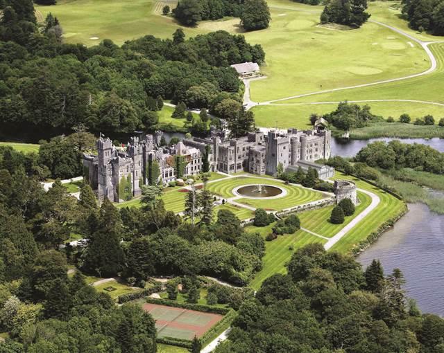 ashford castle  aerial 2