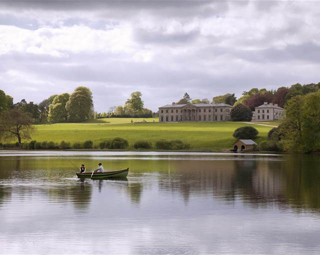 ballyfin house co laois waterview