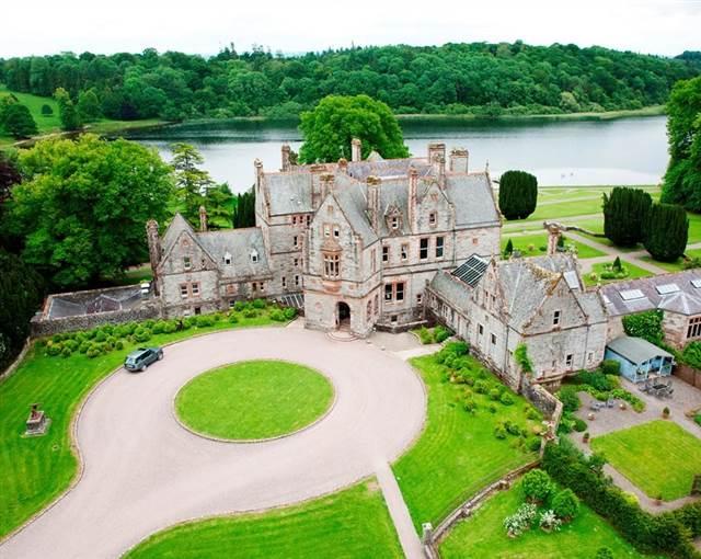 castle leslie aerial