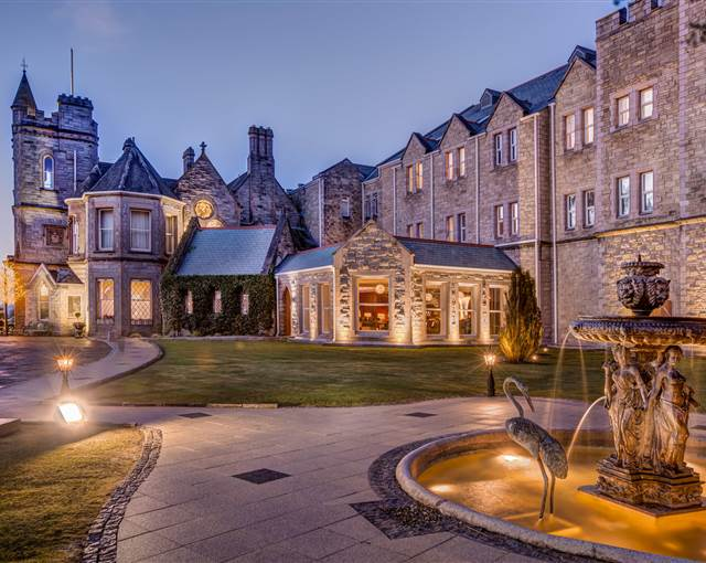 culloden hotel enterence