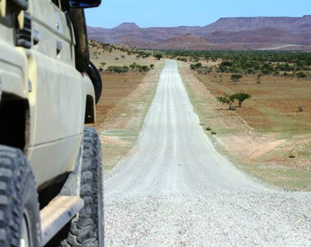 d land cruiser   Namibia