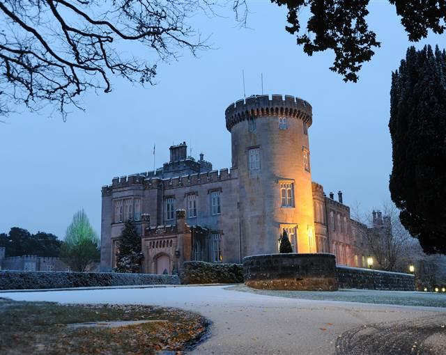 dromoland castle christmas image