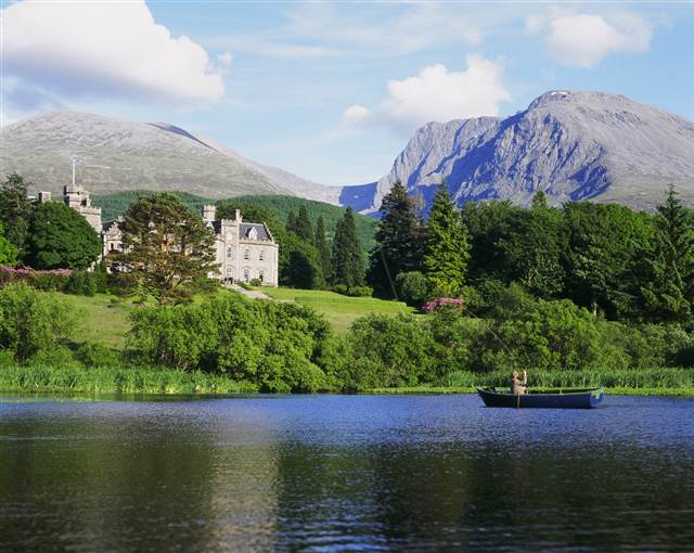 inverlochy castle scotland fishing