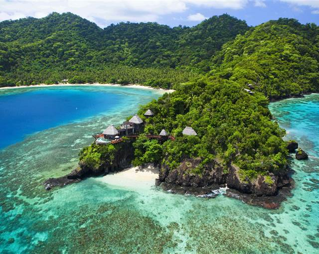 laucala island fidji peninsula villa   a