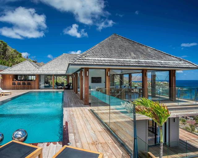 st barth properties caribbean pool