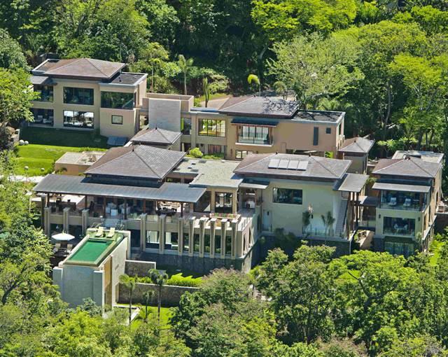 villa manzu-Aerial