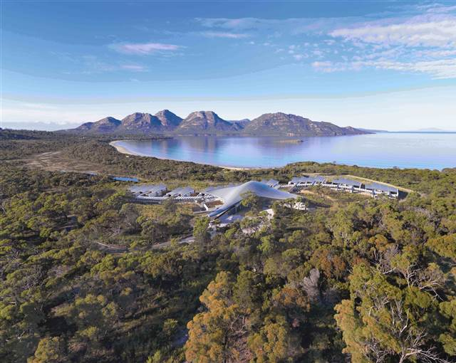 saffire freycinet  hero