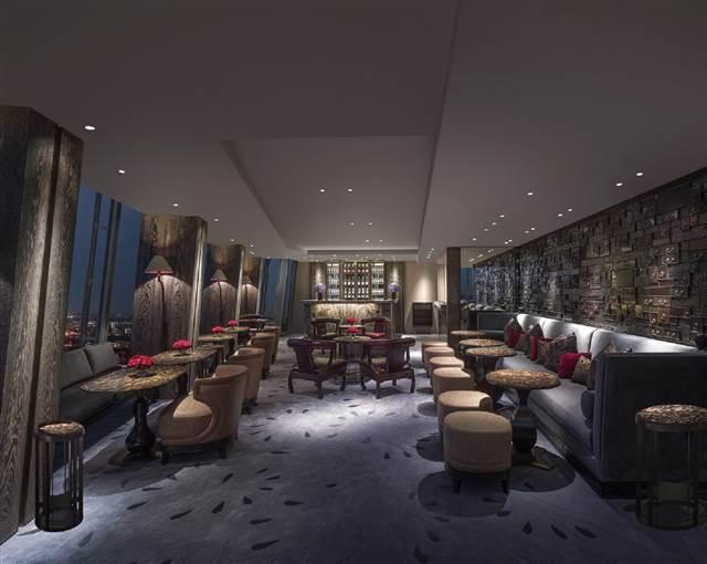 shangri La Hotel GONG champagne bar