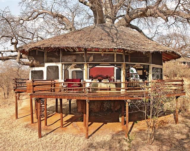 tarangire treetops tanzania room exterio