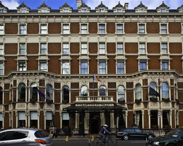 the shelbourne exterior