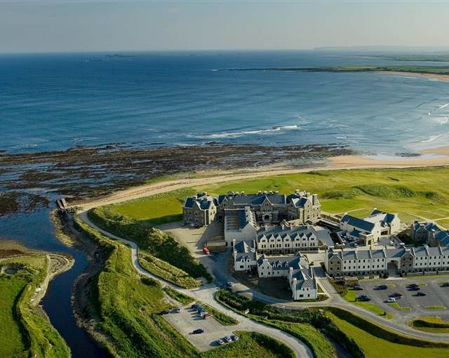 trump international doonbeg  aerial
