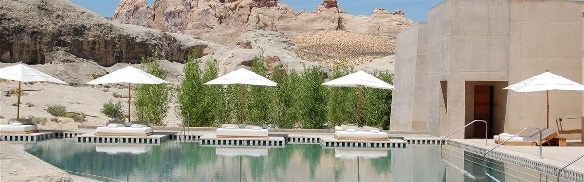 Amangiri Utah pool