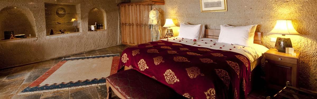 Bedroom Museum Hotel Cappadocia Turkey E