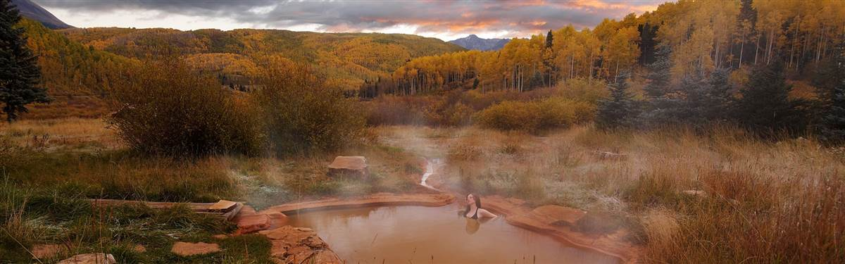 Duton Hot Spring Colorado bathhouse
