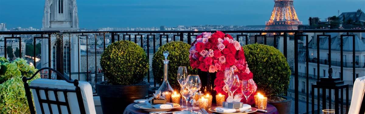Four Seasons Georges V Paris dining