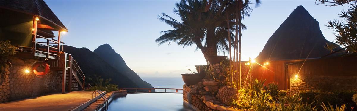 Ladera Resort St Lucia pool