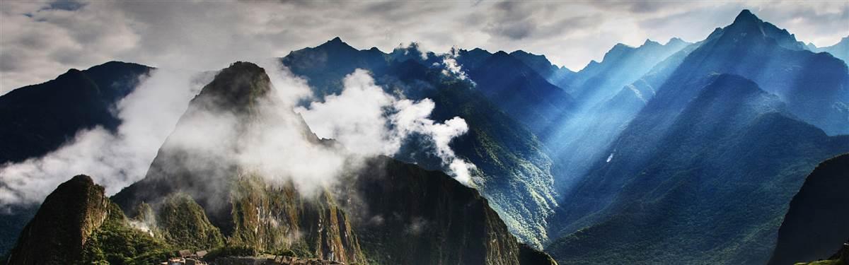 Machu Picchu Peru cloud