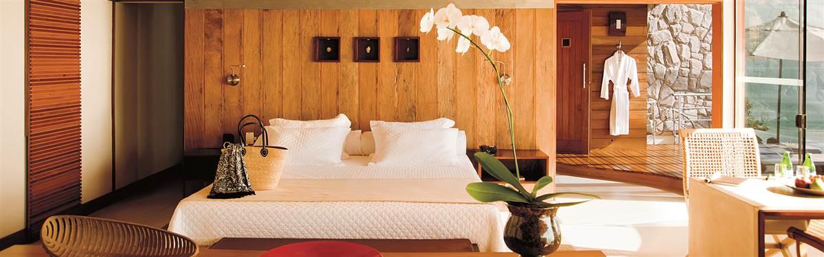 Ponta Dos Ganchos Resort Brazil bedroom