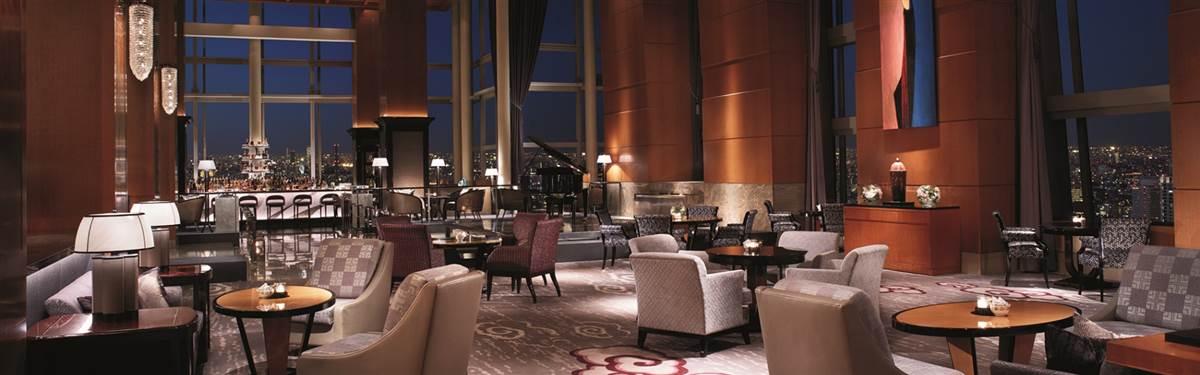 Ritz Carlton Tokyo Japan lobby lounge