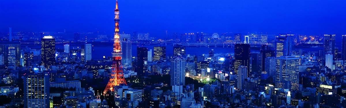 Ritz Carlton Tokyo Japan night view
