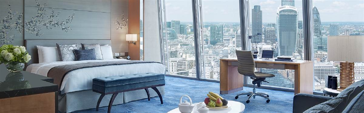 Shangri La Hotel Premium City View Room