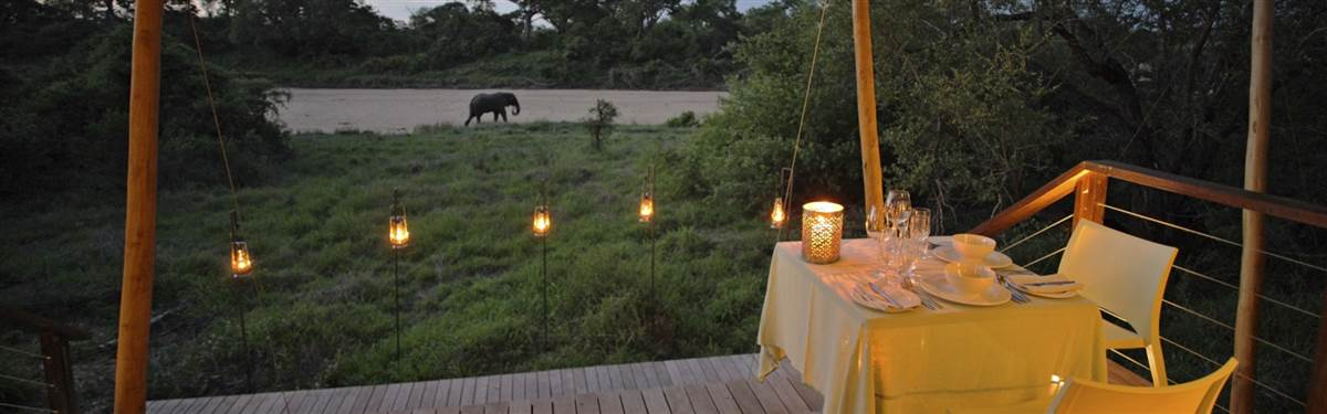 andBeyond Ngala Tented Camp Overlooking