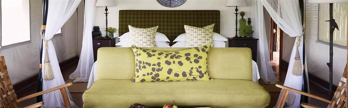 belmond khwai river lodge bedroom