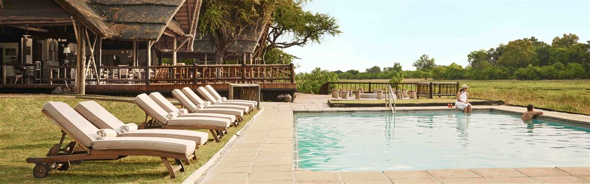 belmond khwai river lodge pool