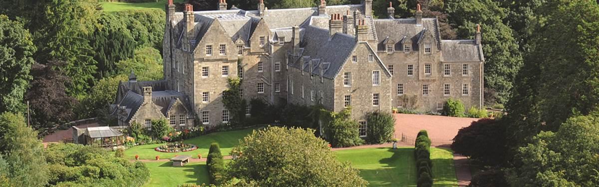 blair castle ariel