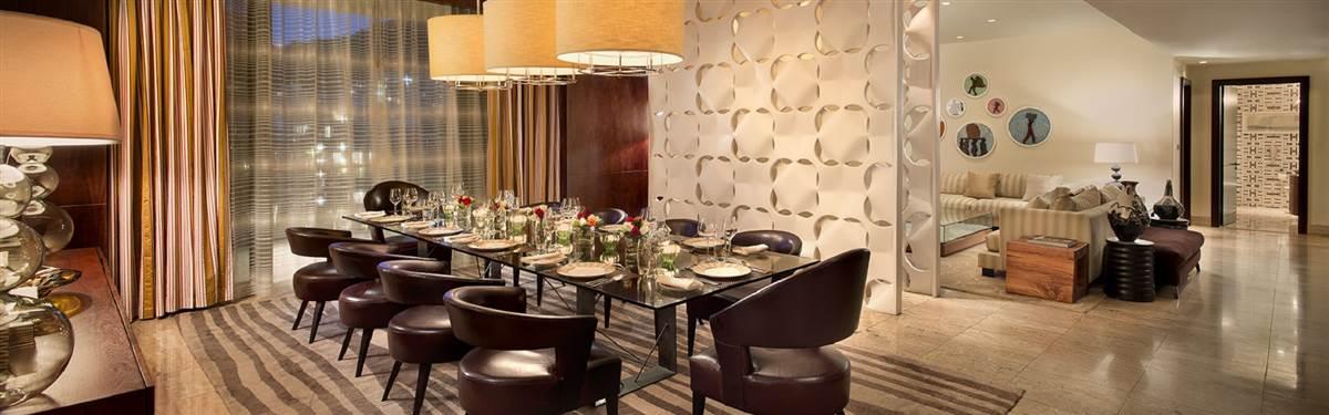 dining room presidential suite