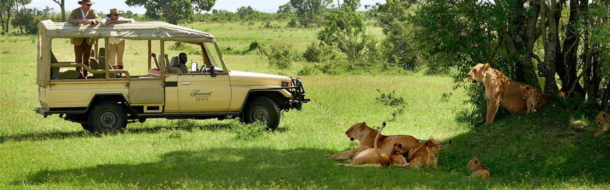 fairmont mara    game drive