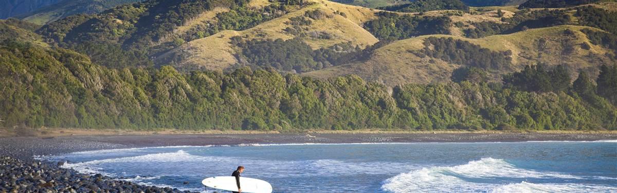 hapuku lodge new zealand beach