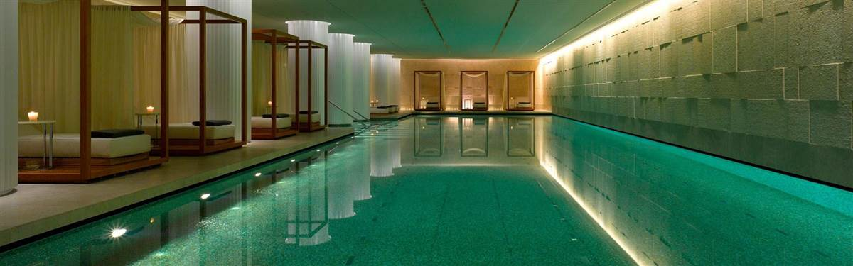 Swimming pool Bulgari