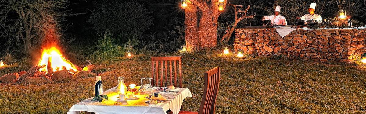 dining serengeti camp