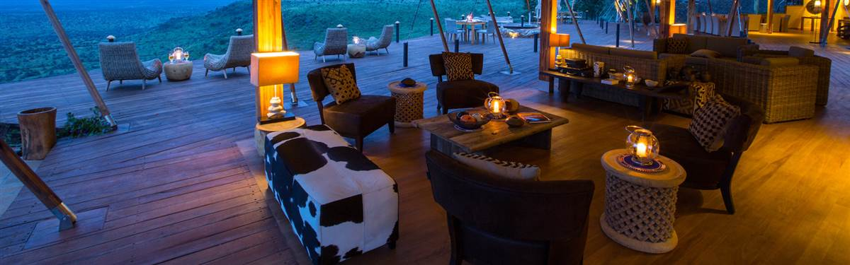 loisaba tented camp   main lounge c silv