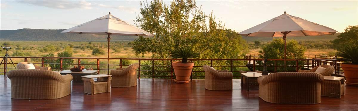 mateya safari lodge lounge deck view