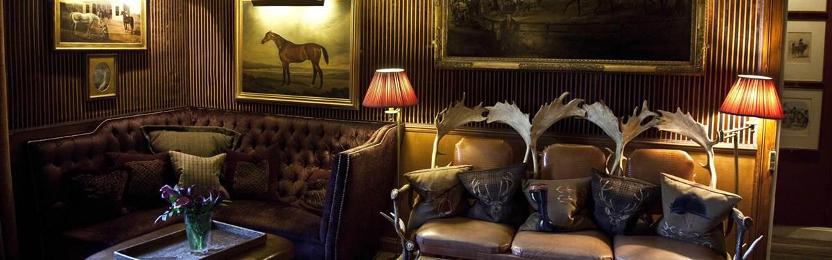 prestonfield house lounge