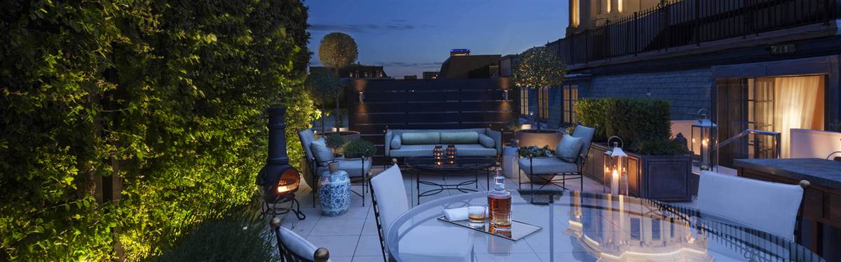 rosewood london garden house terrace