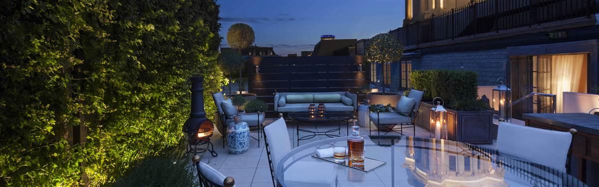 rosewood london garden house terrace
