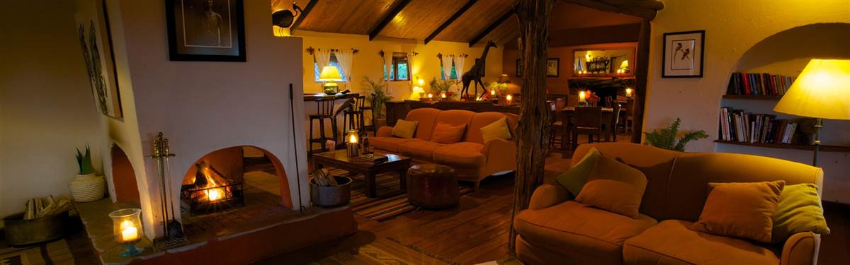 lewa safari camp lounge dining