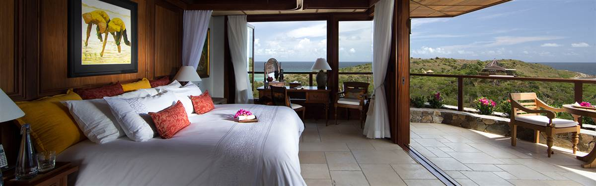 necker island-great house room